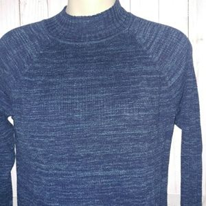 St johns bay|| blue turtle neck sweater EUC soft